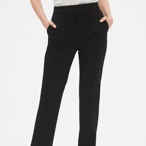 GAP Stretch Black flare Dress Pants Sz 4R Womens